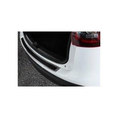 Protector Parachoques en Acero Inoxidable Mazda Cx5 2012-2017 Cromado/Look Fibra Carbono Negro