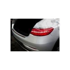 Protector Parachoques en Acero Inoxidable Mercedes Gle Coupe 2015- Negro/Look Fibra Carbono Rojo-negro