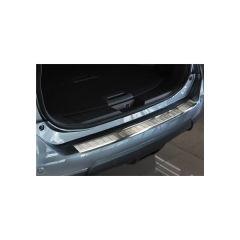 Protector Parachoques en Acero Inoxidable Nissan X-trail 2014-2017 ribs