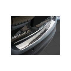 Protector Parachoques en Acero Inoxidable Opel Crossland 2017- ribs