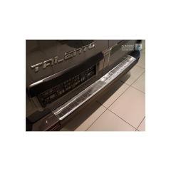 Protector Parachoques en Acero Inoxidable Opel Vivaro 2014-2019 & Renault Trafic 2014-2019 & 2019- / Fiat Talento 2016- ribs (lang 118cm)