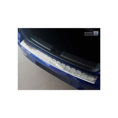 Protector Parachoques en Acero Inoxidable Seat Ibiza (6f) 2017- ribs