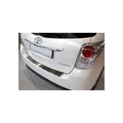 Protector Parachoques en Acero Inoxidable Toyota Verso 2013-2017 & 2017- ribs