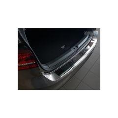 Protector Parachoques en Acero Inoxidable Volkswagen VW Golf Vii Hb 3/5-puertas 2012- Cromado/Look Fibra Carbono Negro
