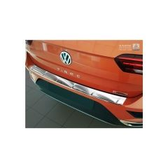 Protector Parachoques en Acero Inoxidable Volkswagen VW T-roc 11/2017- sportline-logo