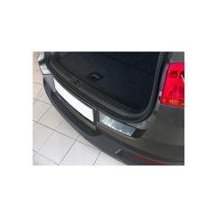 Protector Parachoques en Acero Inoxidable Volkswagen VW Tiguan 2007- ribs (2-delig)
