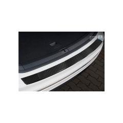 Protector Parachoques en Acero Inoxidable Volkswagen VW Tiguan Ii 2016- Look Fibra Carbono Negro
