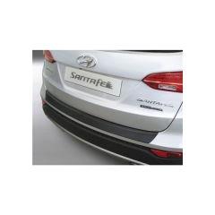Protector Parachoques en Plastico ABS Hyundai Santa Fe 9.2012-10.2015 Negro