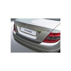 Protector Parachoques en Plastico ABS Mercedes Clase C W204 4 puertas Saloon 3.2007-2.2011 (no Sport) Negro