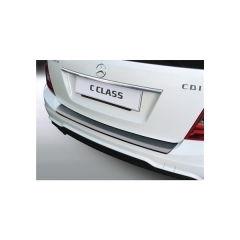Protector Parachoques en Plastico ABS Mercedes Clase C W204t Touring/kombi 6.2011-5.2014 Negro