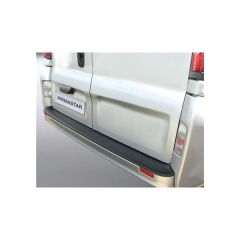 Protector Parachoques en Plastico ABS Nissan Primastar 2006-8.2014 Negro