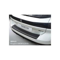 Protector Parachoques en Plastico ABS Peugeot 5008 Sw/rxh 2018- Negro