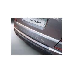 Protector Parachoques en Plastico ABS Ssangyong Rexton W 4.2013- Negro