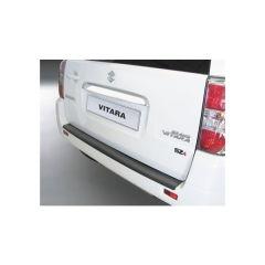 Protector Parachoques en Plastico ABS Suzuki Grand Vitara 3/5 puertas 6.2010-2.2015 (Llanta De Repuesto En Porton) Negro