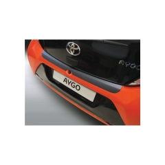 Protector Parachoques en Plastico ABS Toyota Aygo 3/5 puertas 7.2014- Negro