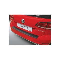 Protector Parachoques en Plastico ABS Volkswagen VW Golf 7 Variant 2017- Negro