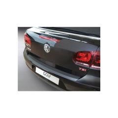 Protector Parachoques en Plastico ABS Volkswagen VW Golf Cabriolet 2 Dr 6.2011- Negro