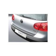 Protector Parachoques en Plastico ABS Volkswagen VW Golf Mk V 3/5 puertas 9.2003-9.2008 Negro