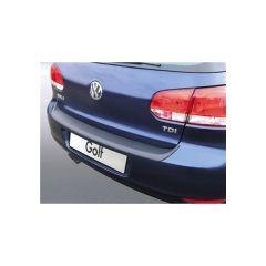 Protector Parachoques en Plastico ABS Volkswagen VW Golf Mk Vi 3/5 puertas 10.2008-10.2012 Negro