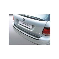 Protector Parachoques en Plastico ABS Volkswagen VW Golf Mk Vi Variant 6.2009-5.2013 Negro