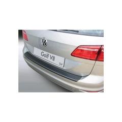 Protector Parachoques en Plastico ABS Volkswagen VW Golf Mk Vii Sv/sport Van 5.2014- Negro