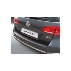 Protector Parachoques en Plastico ABS Volkswagen VW Passat Variant B7 11.2010-10.2014 Negro