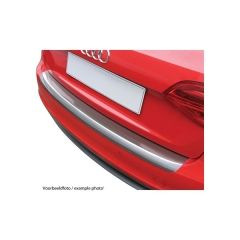 Protector Parachoques en Plastico ABS Volkswagen VW Passat Variant B7 Alltrack 4x4 10.2010-10.2014 Look Aluminio
