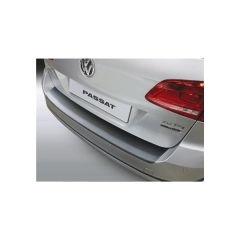 Protector Parachoques en Plastico ABS Volkswagen VW Passat Variant B7 Alltrack 4x4 10.2010-10.2014 Negro