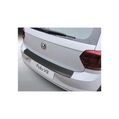 Protector Parachoques en Plastico ABS Volkswagen VW Polo Mk Vii 3/5 Puertas 2017- Negro