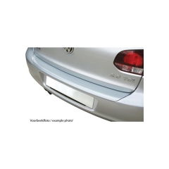 Protector Parachoques en Plastico ABS Volkswagen VW Tiguan 4x4 11.2007-3.2016 (con Gancho De Remolque De Origen) Look Plata