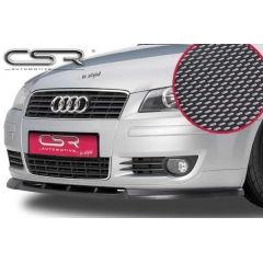 Spoiler deportivo espada espadin Audi A3 8P 8PA No valido para S3 2003-2005 Look Carbono