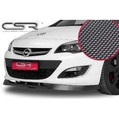 Spoiler deportivo espada espadin Opel Astra J no valido para OPC 2009-09/2012 Look Carbono
