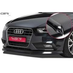 Spoiler deportivo espada espadin Audi A4 B8 Limousine, Avant 11/2011-2015 Look Carbono