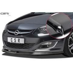 Spoiler deportivo espada espadin Opel Astra J no valido para OPC 9/2012-2015 Look Carbono