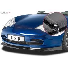 Spoiler deportivo parachoques delantero espada espadin Porsche 911/996 Carrera, Carrera 4 y Targa (Facelift) 2002-2006 Look Carbono